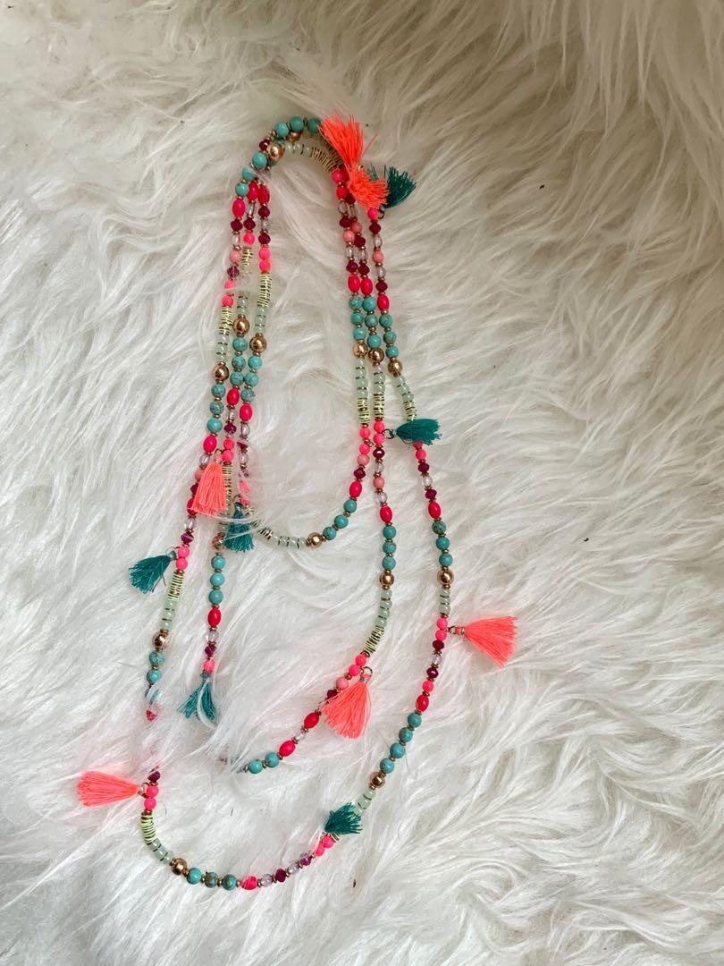 Tassel Long Necklace