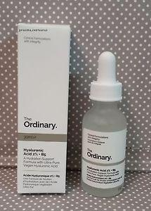 THE ORDINARY HYALURONIC ACID 30ml 2% + B5 BRAND NEW & AUTHENTIC (PRICE IS FIRM, NO SWAPS)