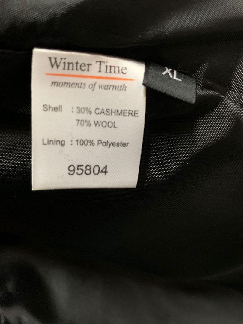 Winter coat-woman- cashmere and wool