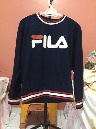 WTS Authentic Fila Sweatshirt