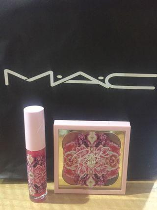 Mac Patrick Starrr Limited Edition Lipstick and Eye Shadow