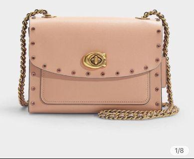 coach parker crystal nude