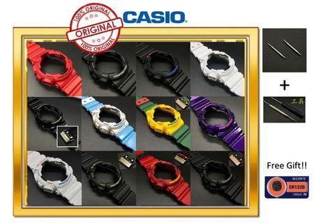 READY STOCK CASIO BAND AND BEZEL G-SHOCK ORIGINAL FOR MODEL GA / GD - 100, 110, 120, GLS - 100