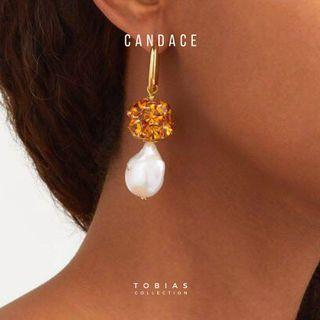 Candace Pearl Earrings [Coming soon!!!!- Reserve a piece]