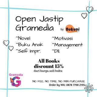 Buku Gramedia best seller novel komik