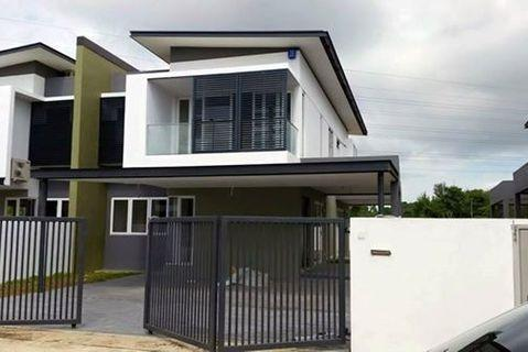 Loan rejected unit! Brand new FREEHOLD double storey superlink