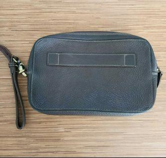 Clutch dompet kulit asli eropa