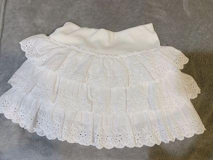 層次蛋糕短裙