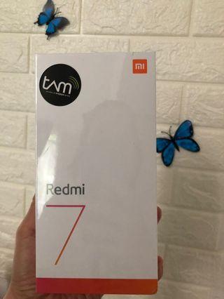 Xiaomi Redmi 7 Black 3Gb/32gb BNIB