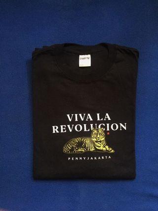 "PENNY JAKARTA ""VIVA LA REVOLUCION LONGSLEEVE BLACK"""