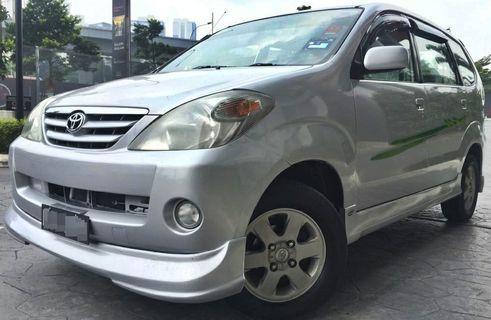 2006 Toyota AVANZA 1.3 E SPEC (A) DP 2990 LOAN KEDAI KERETA