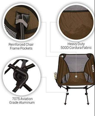 Ultralight Olive Green Camping Chair