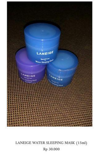 Laneige Sleeping mask trial kit 15ml