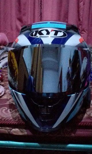 Helm KYT R10 Visor Silver Iridium