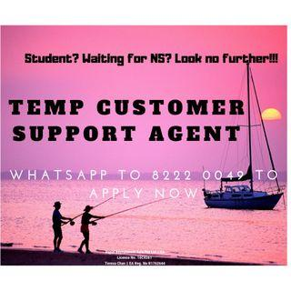 Temp Customer Service Officer Wanted!!! $8/hr!! Central/East