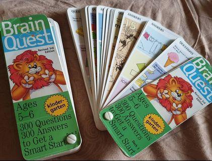 Brain Quest flash card 5-6 Yo