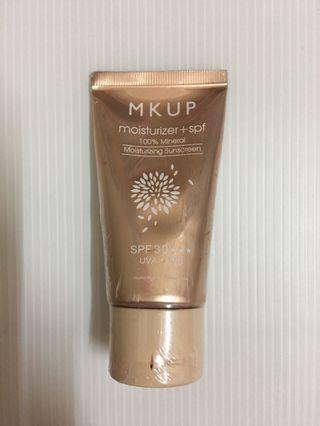 降價  MKUP純物理性水潤防曬乳液SPF30⭐️⭐️⭐️