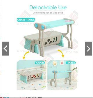 3 IN 1 Children's Multi-Function Study Desk Table