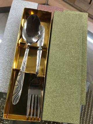 Door gift fork n spoon