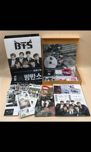 【現貨不用等】禮物 BTS防彈少年團花樣年華WING專輯寫真集周邊明信片海報