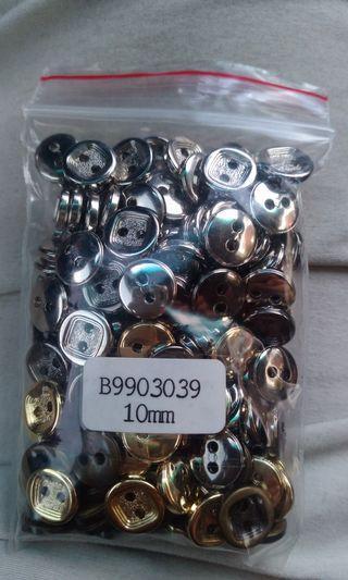 扣子10mm一包