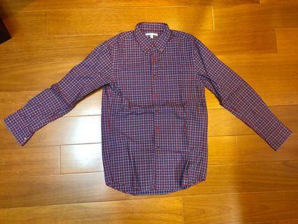Uniqlo格紋襯衫