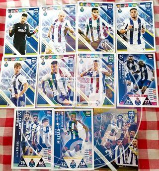 Match Attax & Panini Cards team set @ 1$