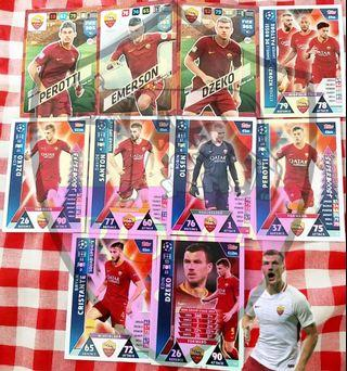 Match Attax Cards & Panini Cards team set @ 1.50$