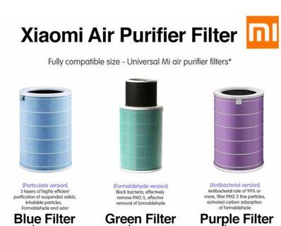💖AUTHENTIC💖LOCAL SELLER Xiaomi Mi Air Purifier Filter Replacement for Xiaomi Air Purifier Gen 1/2/2s/pro