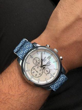 Tissot PRC200 Automatic Chronograph Mother of Pearl Dial