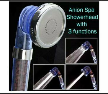 Promotion Sales 8cm Triple mode Anion Spa Showerhead