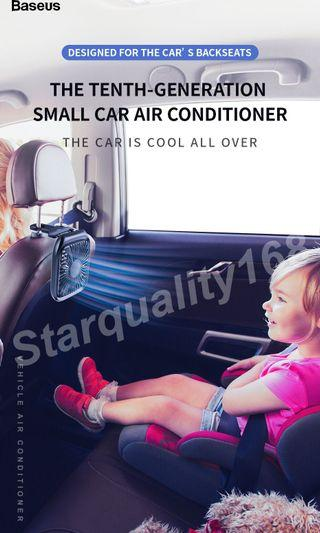 🌟INSTOCK 🌟 Baseus USB Car Air-Conditioner Table Fan