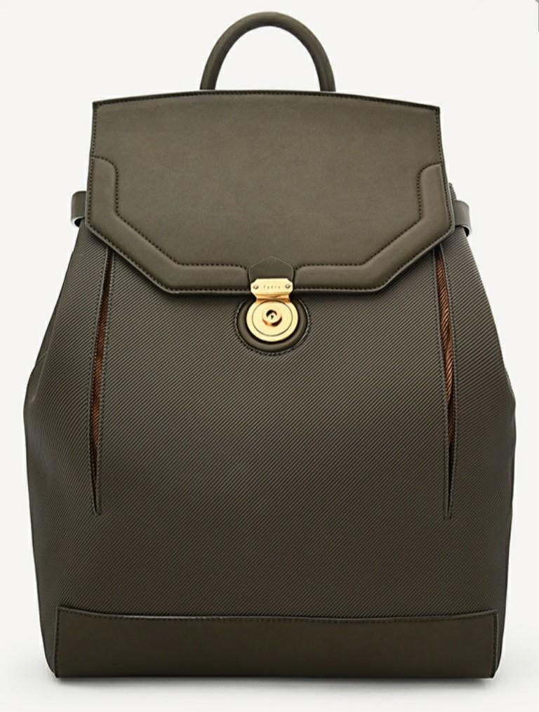 1 x Embossed Olive Pedro backpack with free delivery