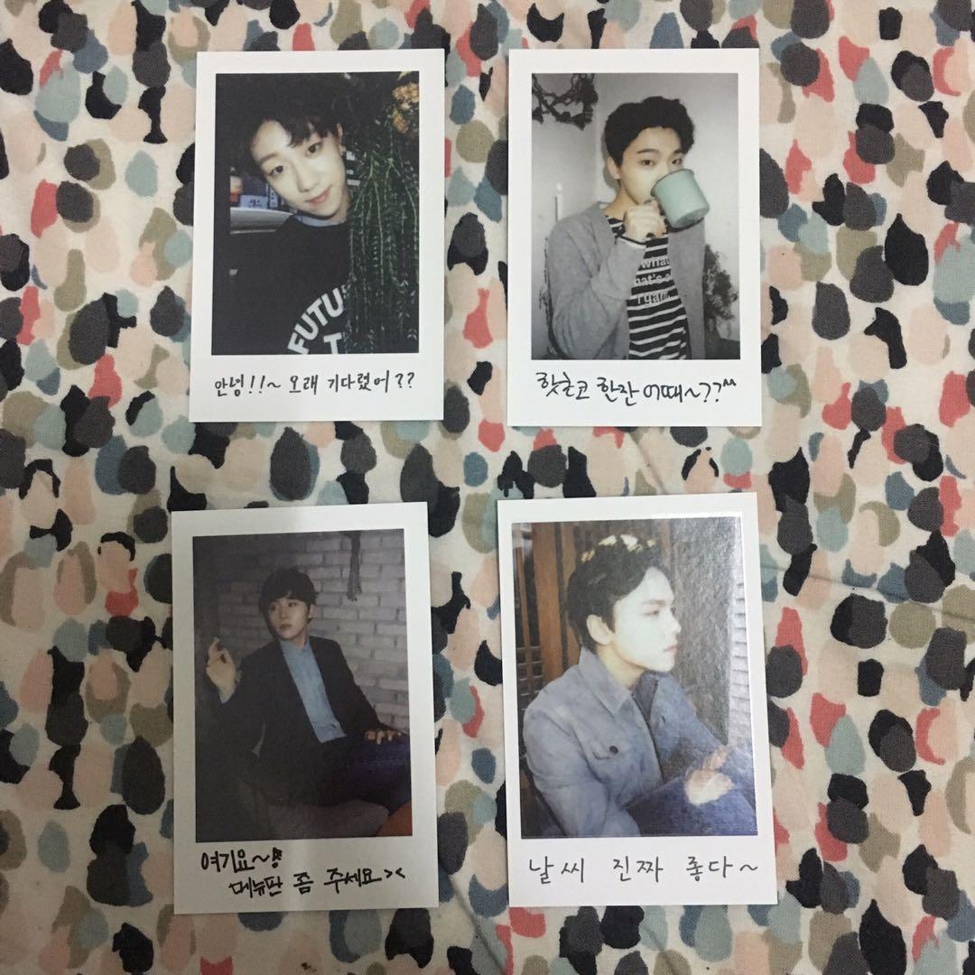 1st gen photocards seventeen seungkwan the8 dino vernon