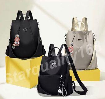 🌟INSTOCK 🌟 Oxford Cloth Anti-theft Backpack Sling Bag AT001