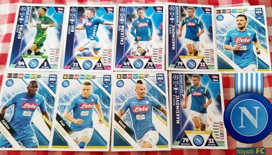 Match Attax & Fifa Cards team set @ 1$