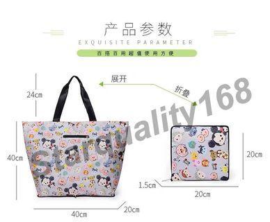 🌟INSTOCK 🌟 Cute Foldable Shopping Bag L40*H40*W20cm