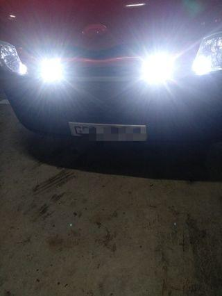 Led Mini fog lights 23mm Hiace, Nv350,  Nv200, Van,  Lorry,  Bike,  Scooter, motor