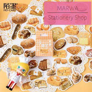 45pcs The Most Wondrous Breads in All of Hearts Sticker Pack (Mo Card-MC0077)