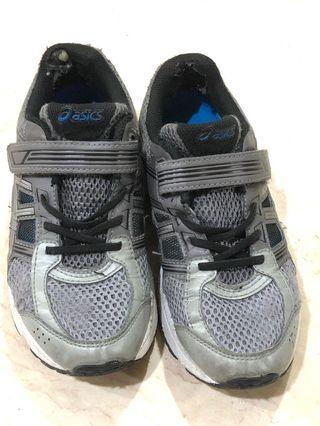 6-7Y Asics Grey Running Shoes