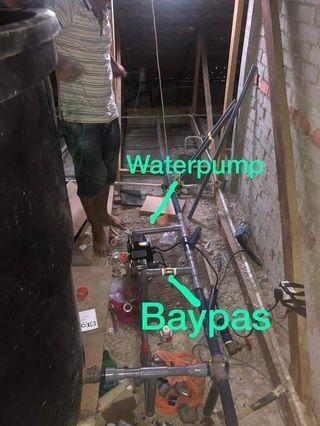 Waterpump&baypas, bumbung bocor Putrajaya,