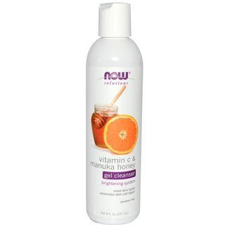 [Ready Stock] Now Foods Vitamin C & Manuka Honey Facial Gel Cleanser 237ml