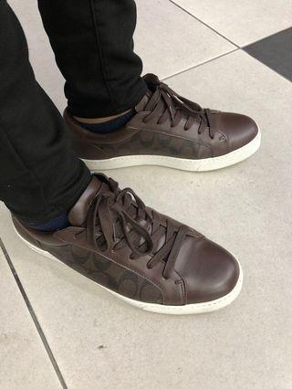 Coach Men Brown  Sneakers (AUTHENTIC)