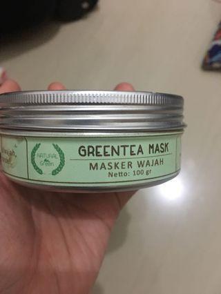 Green Tea Mask by Natural Green