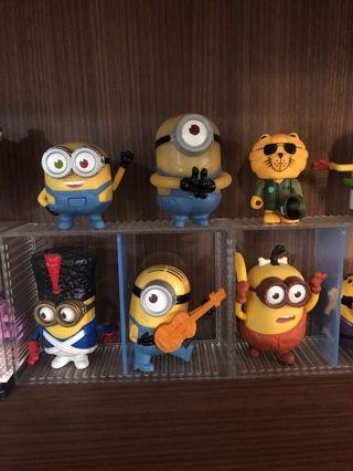 Minions figurine collectibles