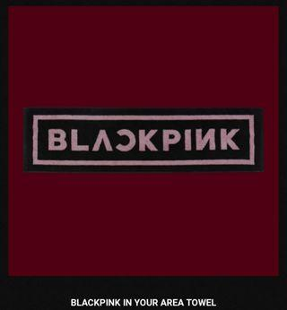 Blackpink In Your Area Towel
