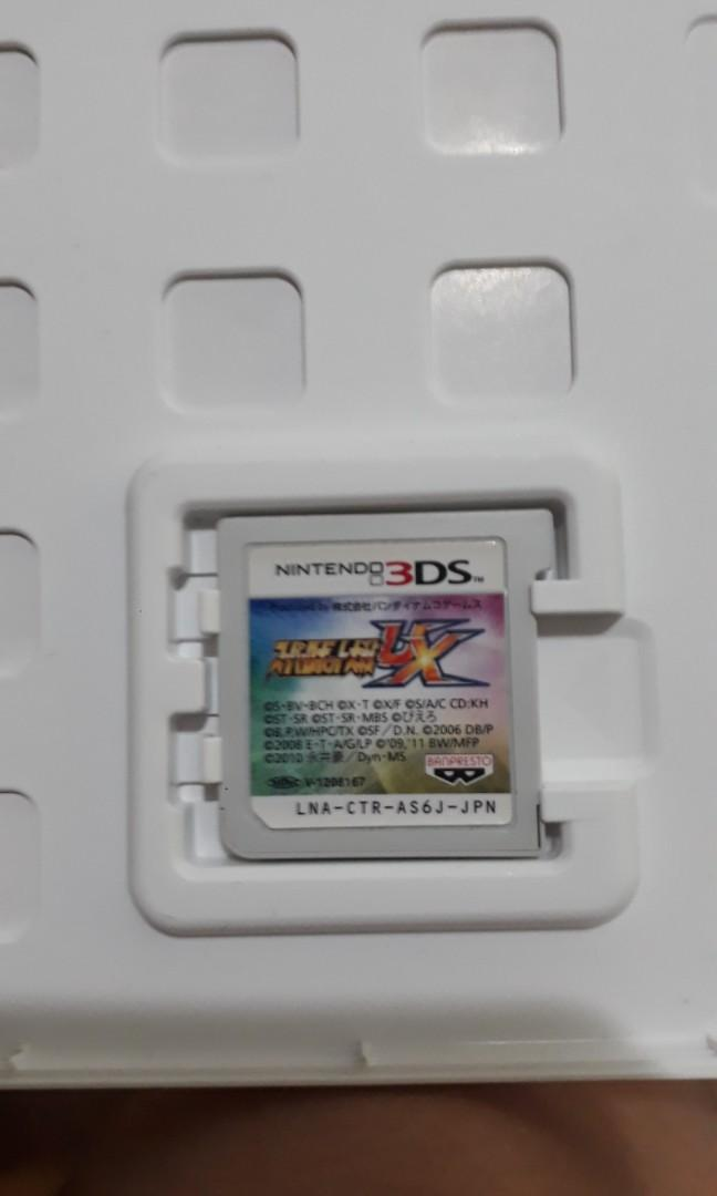 [3DS Games] Super Robot Wars UX スーパーロボット大戦UX