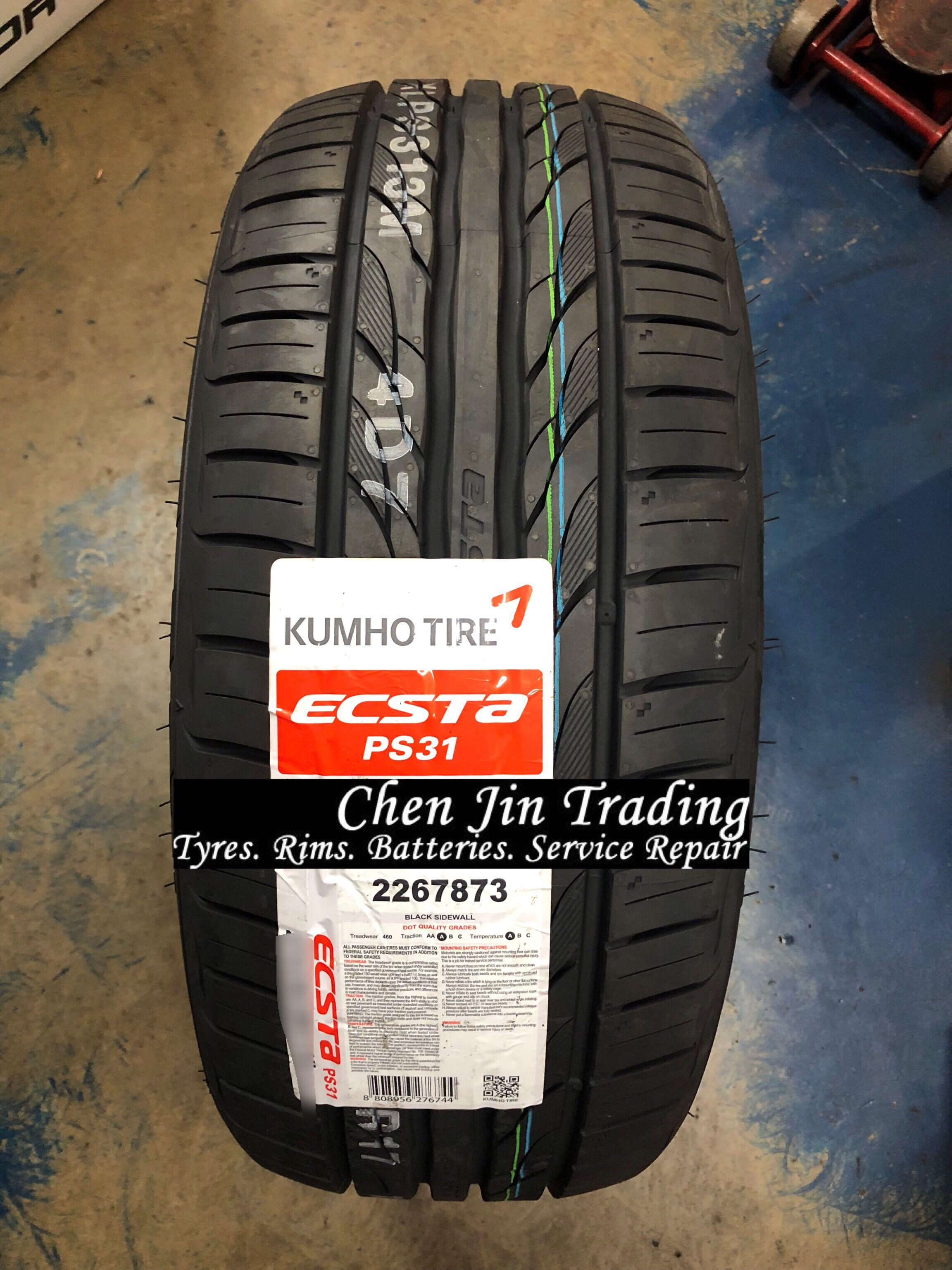 4pcs 225/50/18 Kumho Ecsta PS31 Car Tyre