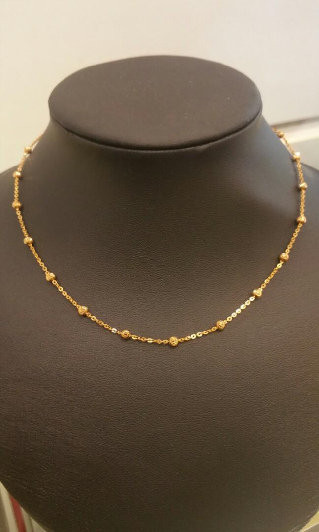 916 gold necklaces