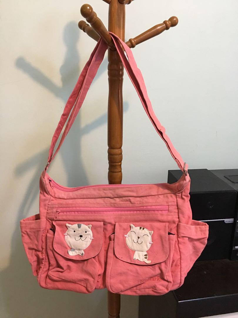 日本貓咪大斜背包
